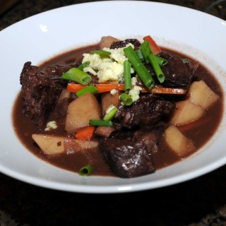Smoky Blue Cheese Beef Stew
